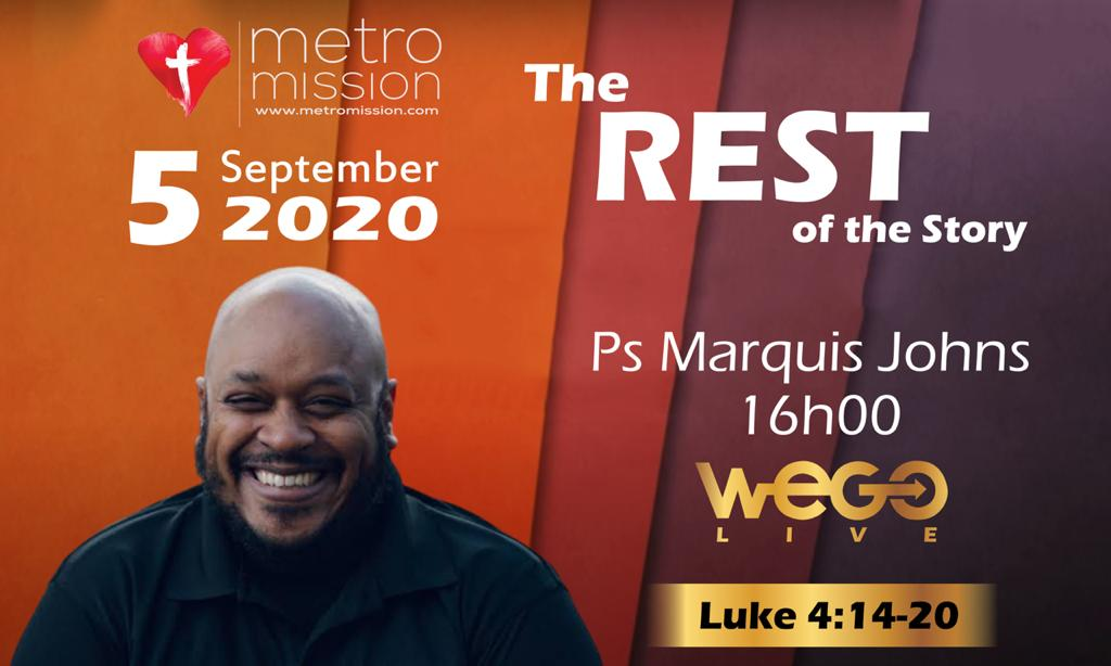 WeGo Live with Marquis Johns